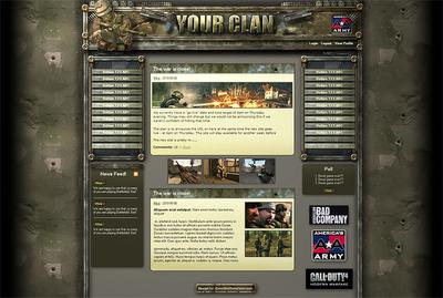 Desert Storm Web Design