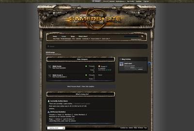 Xgaming Clan Forum Skin V4