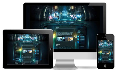 High Fantasy HTML Template