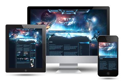 Star Citizen SciFi HTML Template