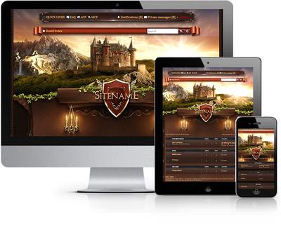 Castle Land Forum Skin