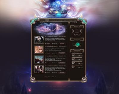 Perfect Fantasy Web Template