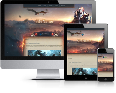 Raven HTML Template