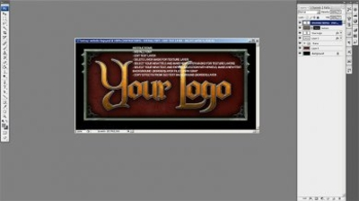 Edit game site logo tutorial