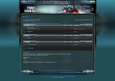 Battlefield Skin phpBB
