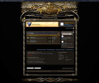 Fantasy Blade Forum Skin V3
