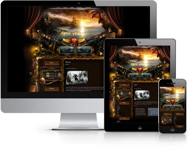 Pirates Wordpress Theme