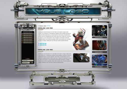 3d sci-fi game design