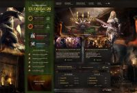Lineage Gamers PSD Template
