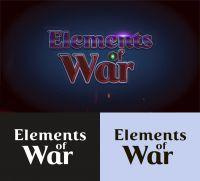 Elemental Of War Game Logo