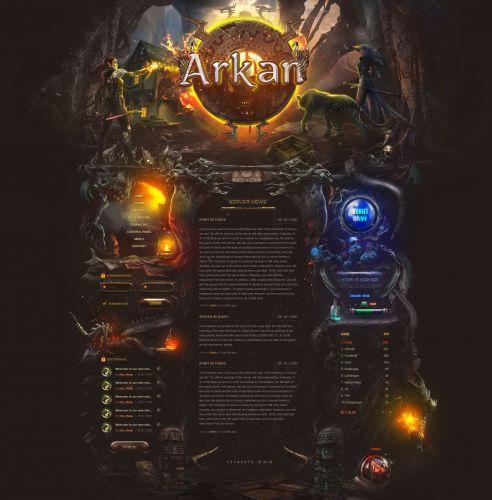 Arkan mmo fantasy design