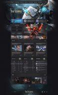 Weos Fantasy Web Template