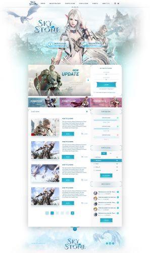 Sky Stone html