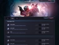CSGO Forum PSD Template