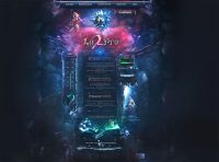 Pro Fantasy Game Web Design