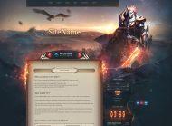 Raven Fantasy Web Template