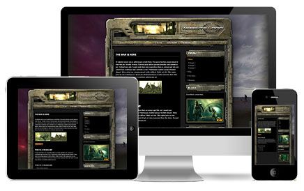 DayZ Battle Tank Wordpress Theme
