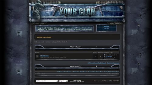 Call of Duty Forum Skin