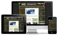 Camo Game Wordpress Theme