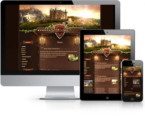 Castle Land Wordpress Theme