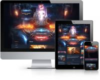 Catacomb Joomla Template