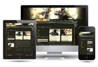 COD Gaming Joomla Template
