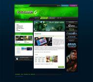 E Gamers Web Template