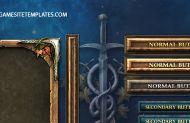 Fantasy Elves Game UI Template