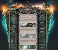 Forest Saga Website Template