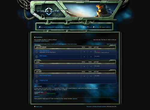 Gamers Forum Skin phpBB