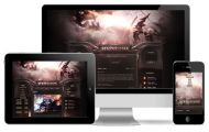 Hazy Fantasy Game Wordpress Theme