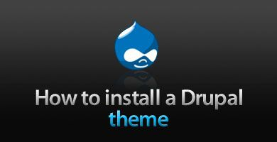 How to install a Drupal theme