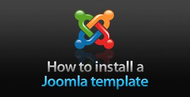 How to install a Joomla template