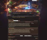 Legion Game Forum Skin