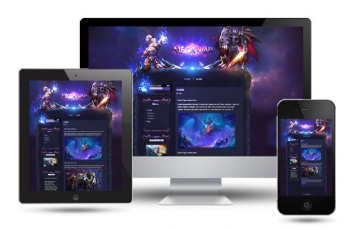 Mega War Wordpress Theme