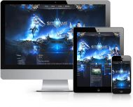Metin MMO Wordpress Theme