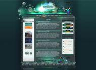 Minecraft Website Template