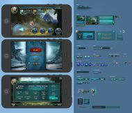 Mobile Game UI Template