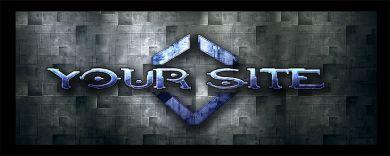 Sci-fi Game Logo