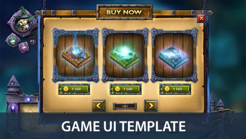 Wizard Game UI
