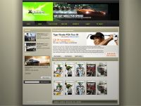 Xgamers Web Design
