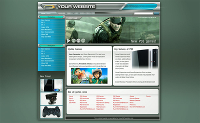 Gamers Community Template