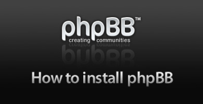 How to install phpBB forum