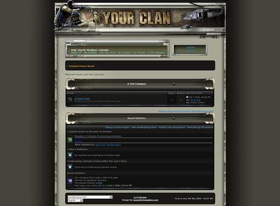 CombatZone Forum Skin