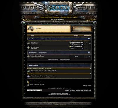 Guild forum skin vb