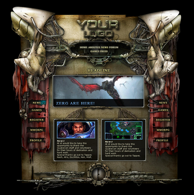 RPG Interface Template
