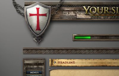 Crusader GUI Template