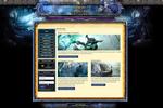Guild War Joomla Template