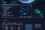 Space War Game UI Template