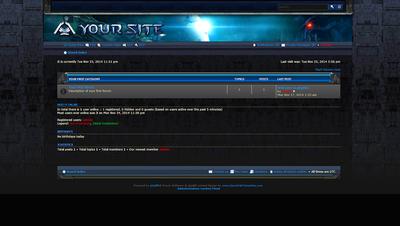Starcraft Marine Forum Skin phpBB